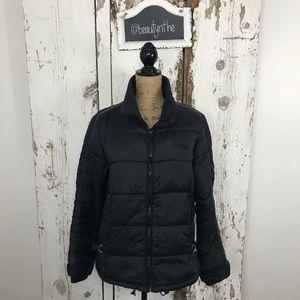 Vero moda EURO puffer coat black short
